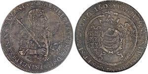 1 Талер Князівство Трансильванія (1571-1711) Срібло Gabriel Báthory (1589 – 1613)
