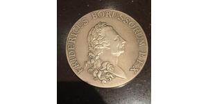 1 Талер Королівство Пруссія (1701-1918) Срібло Фрідріх II (король Пруссії) (1712 – 1786)
