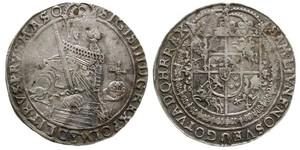 1 Талер Річ Посполита (1569-1795) Срібло Сигизмунд III