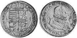 1 Талер Священна Римська імперія (962-1806) Срібло