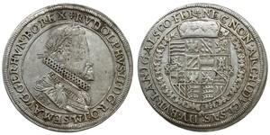 1 Талер Священна Римська імперія (962-1806) Срібло Рудольф II (1552 - 1612)