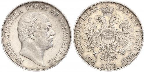 1 Талер Федеральні землі Німеччини Срібло