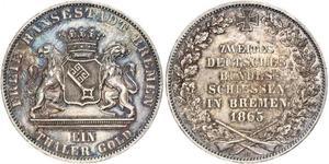 1 Талер Федеральні землі Німеччини / Бремен (земля) Срібло
