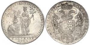 1 Талер Free Imperial City of Nuremberg (1219 - 1806) Срібло