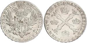 1 Талер / 1 Крона Австрійські Нідерланди (1713-1795) Срібло Maria Theresa of Austria (1717 - 1780)