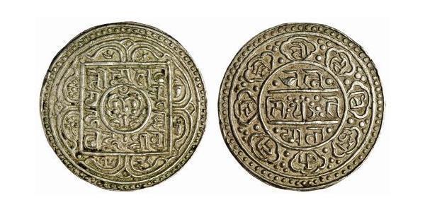 1 Тангка Тибет Серебро