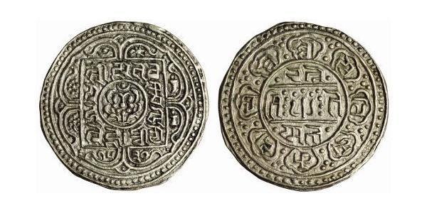 1 Тангка Тибет Срібло