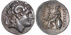 1 Тетрадрахма Древняя Греция (1100BC-330) Серебро Александр Македонский (356BC-323BC)