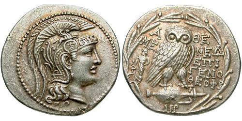 1 Тетрадрахма Древняя Греция (1100BC-330) Серебро