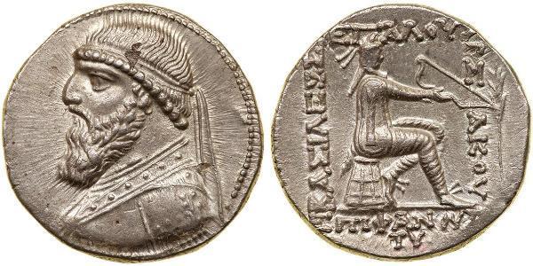1 Тетрадрахма Парфянское царство (247 BC – 224 AD) Серебро Митридат II (царь Парфии) (121-91 BC)