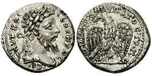 1 Тетрадрахма Римская империя (27BC-395) Серебро Септимий Север (145- 211)