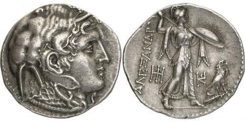 1 Тетрадрахма Эллинистиический Египет (332BC-30BC) Серебро