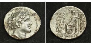 1 Тетрадрахма Держава Селевкідів (312BC-63 BC) Срібло Alexander I Balas (150-145 BC)