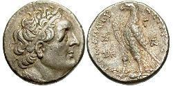 1 Тетрадрахма Елліністичний Єгипет (332BC-30BC) Срібло Птолемей III Эвергет (282BC-222BC)