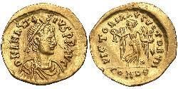 1 Тремиссис Византийская империя (330-1453) Золото Анастасий I (430-518)