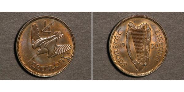 1 Фартінг Ірландія (1922 - )