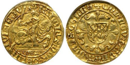 1 Флорин Королевство Нидерланды (1815 - ) Золото