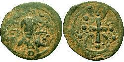 1 Фолліс Візантійська імперія (330-1453) Бронза Олексій I Комнін (1056- 1118)