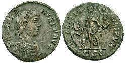 1 Фолліс /  AE2 Західна Римська імперія (285-476) Бронза Граціан  (359-383)