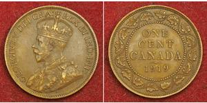 1 Цент Канада Бронза Георг V (1865-1936)