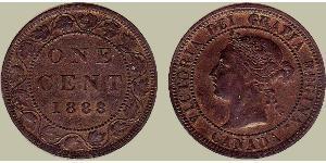 1 Цент Канада Бронза Вікторія (1819 - 1901)