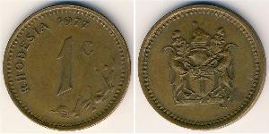 1 Цент Родезия (1965 - 1979) Бронза