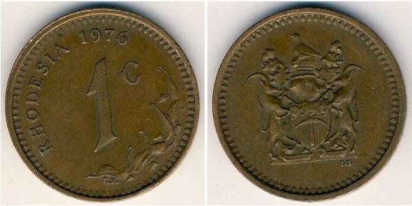 1 Цент Родезія (1965 - 1979) Бронза