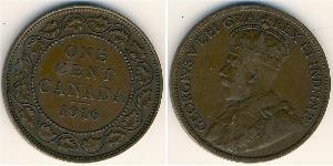 1 Цент Канада Медь Георг V (1865-1936)