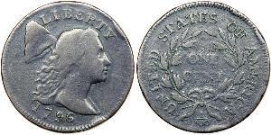 1 Цент США (1776 - ) Медь