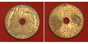 1 Цент Французский Индокитай (1887-1954) Медь