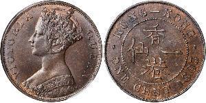 1 Цент Гонконг Мідь Вікторія (1819 - 1901)