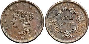 1 Цент США (1776 - ) Мідь