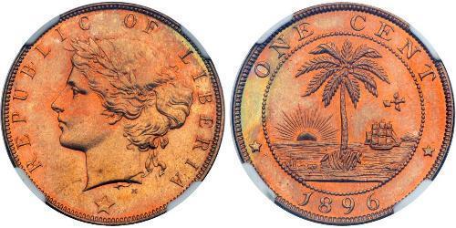 1 Цент Ліберія