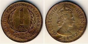 1 Цент   Єлизавета II (1926-)