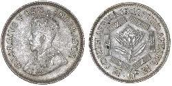 1 Шестипенсовик Південно-Африканська Республіка Срібло Георг V (1865-1936)