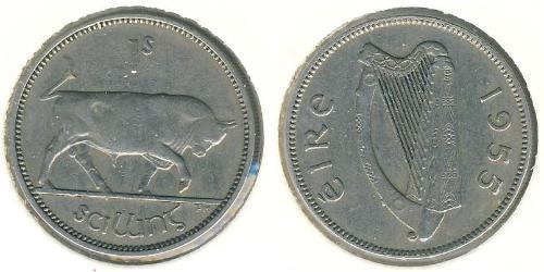 1 Шиллинг Ирландия (1922 - ) Никель/Медь