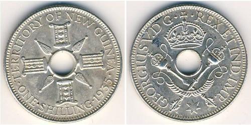 1 Шиллинг Новая Гвинея Серебро