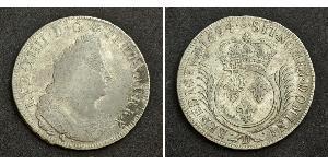 1 Экю Королевство Франция (843-1791) Серебро Людовик XIV (1638-1715)