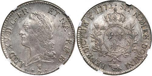 1 Экю Франкське королівство (843-1791) Срібло Людовик XV(1710-1774)