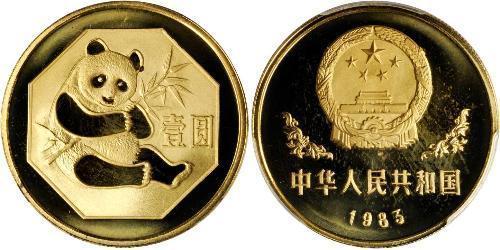 1 Юань Китайська Народна Республіка Золото