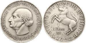 1,000,000,000 Mark Deutschland