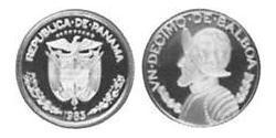 1/10 Balboa Republic of Panama Copper/Nickel Vasco Núñez de Balboa (1475 – 1519)
