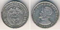 1/10 Balboa Panama Silber Vasco Núñez de Balboa (1475 – 1519)