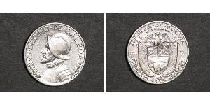 1/10 Balboa Republic of Panama Silver Vasco Núñez de Balboa (1475 – 1519)