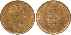 1/12 Shilling Jersey Bronze Edward VII (1841-1910)