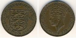 1/12 Shilling Jersey Copper