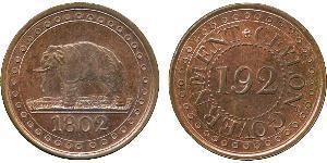 1/192 Rixdollar Sri Lanka Cuivre