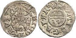 1/24 Thaler States of Germany Silber Matthias, Holy Roman Emperor (1557 - 1619)