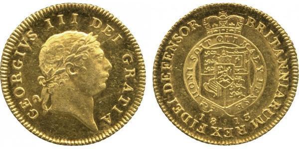 1/2 Гінея Сполучене королівство Великобританії та Ірландії (1801-1922) Золото Георг III (1738-1820)