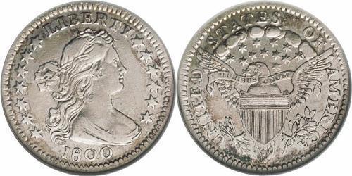 1/2 Дайм / 5 Цент США (1776 - ) Срібло